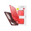 iPhone X kaaned Baseus Touchable Case TPU Flip kaitseklaasiga punane
