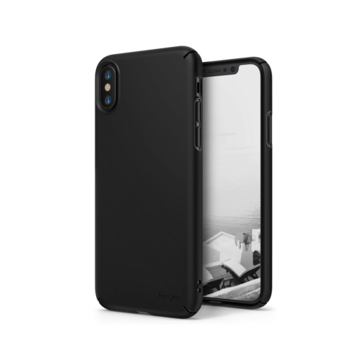 iPhone X korpus Rinke Slim plastikust must