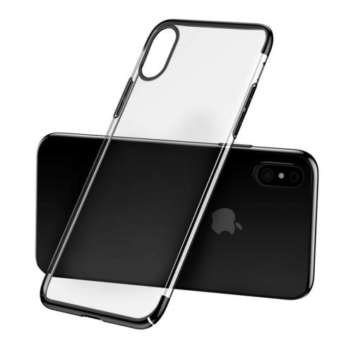 iPhone X tagus Baseus Glitter Hard PC plastikust must 2