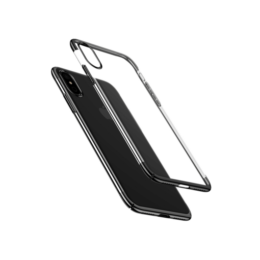iPhone X tagus Baseus Glitter Hard PC plastikust must