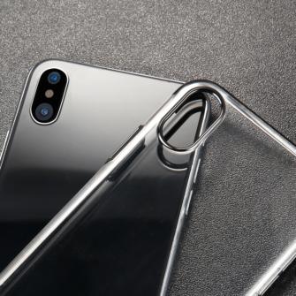 iPhone X tagus Baseus Glitter Hard PC plastikust must 6
