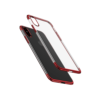 iPhone X tagus Baseus Glitter Hard PC plastikust punane
