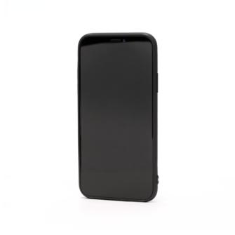 iPhone X must silikoonist ümbris eest