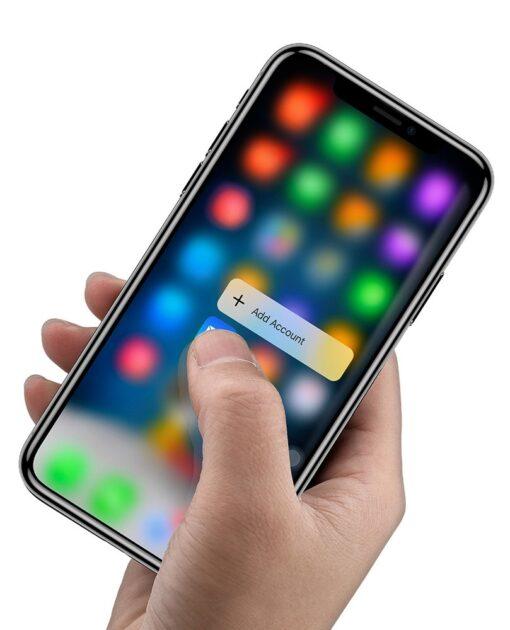iPhone XS kaitseklaas ja iPhone X kaitseklaas 16