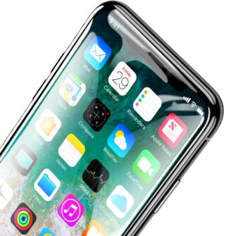 iPhone XS kaitseklaas ja iPhone X kaitseklaas 6