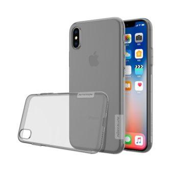 iPhone X ümbris nillkin hall silikoonist 1