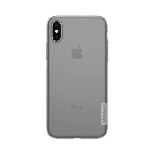 iPhone X ümbris nillkin hall silikoonist 2