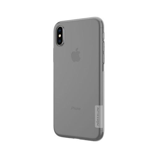 iPhone X ümbris nillkin hall silikoonist