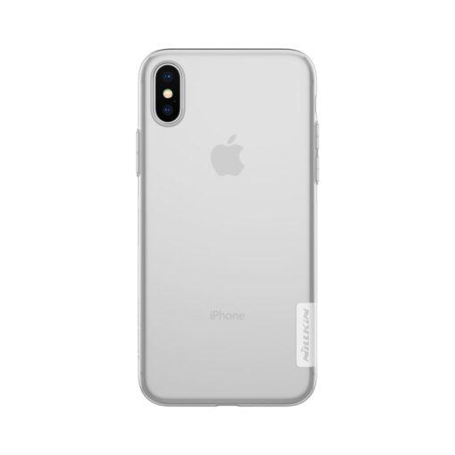 iPhone X ümbris nillkin labipaistev silikoonist 2