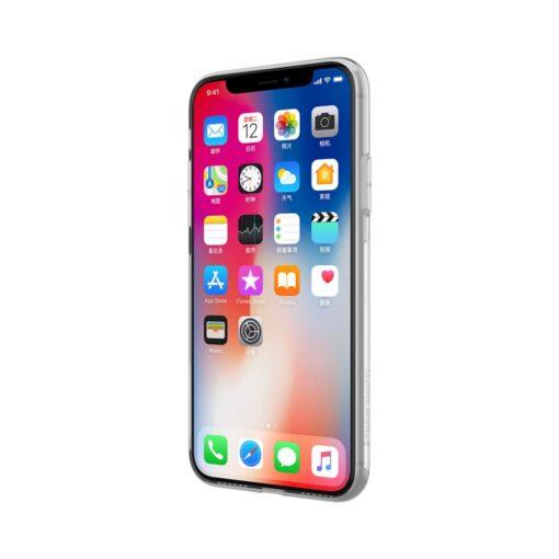 iPhone X ümbris nillkin labipaistev silikoonist 3