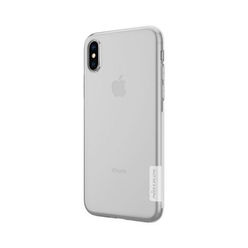 iPhone X ümbris nillkin labipaistev silikoonist