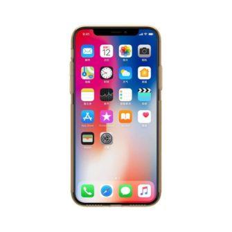 iPhone X ümbris nillkin pruun silikoonist 3