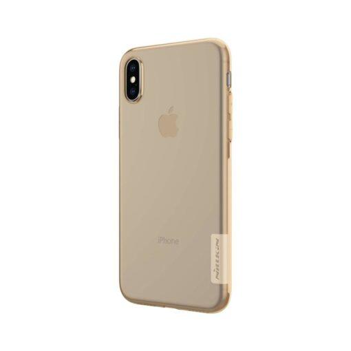iPhone X ümbris nillkin pruun silikoonist