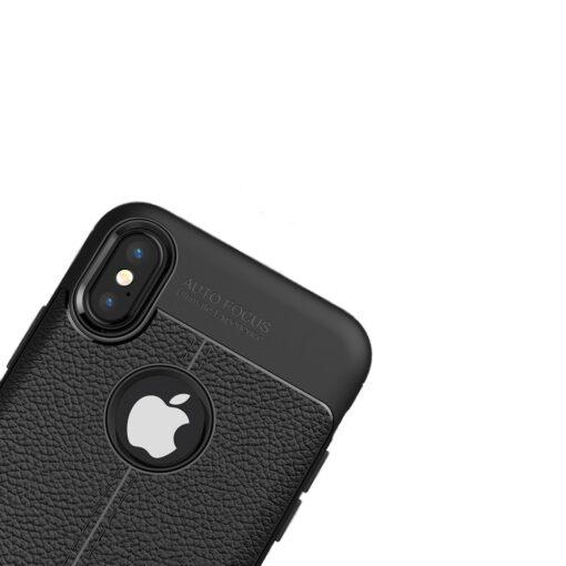 iPhone X must silikoonist korpus 1 min