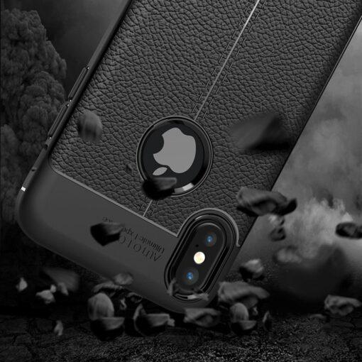 iPhone X must silikoonist korpus 2 min