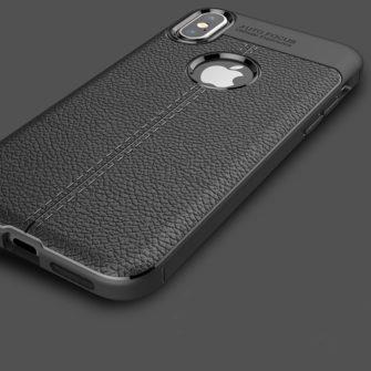 iPhone X must silikoonist korpus 4 min