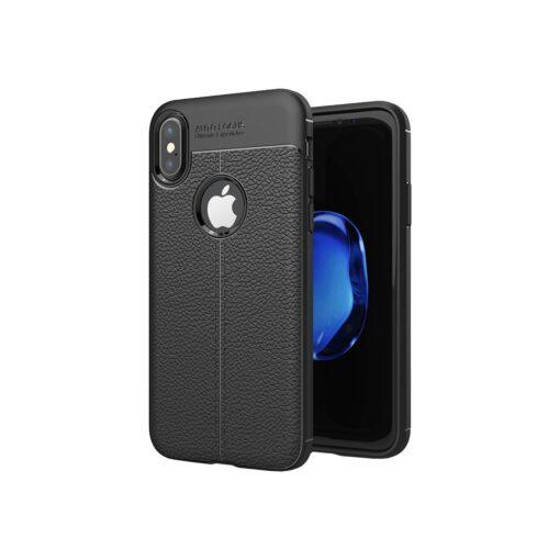 iPhone X must silikoonist korpus min