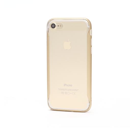 iphone 8 7 baseus silikoonist ümbris kuldsete äärtega 2