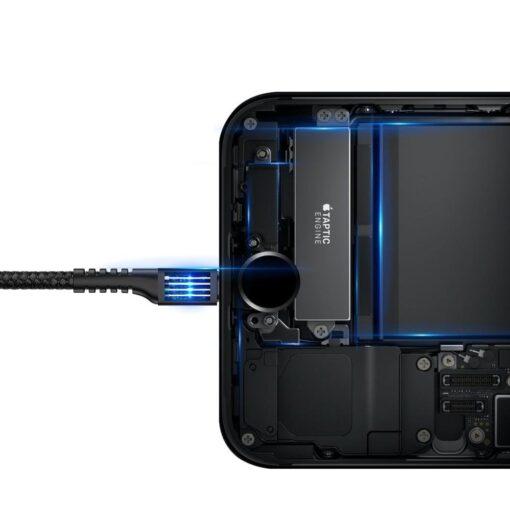 iPhone laadija juhe vedrukaabel spriaaljuhe 1m 2a 3 min
