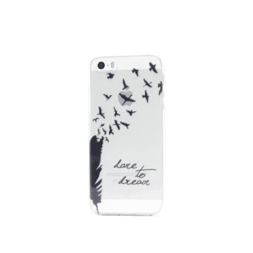 iphone 5 5s se ümbris silikoonist linnud
