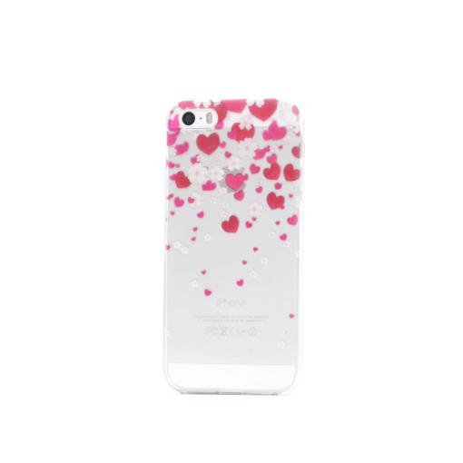 iphone 5 5s se ümbris silikoonist südametega