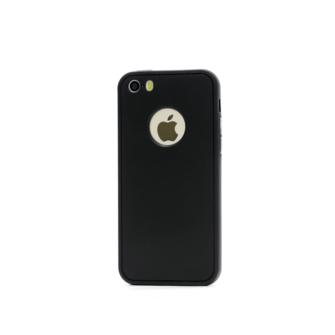 iphone 5 5s se 360 silikoonist ümbris must 1 min