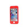 iphone 5 5s se 360 silikoonist ümbris punane min