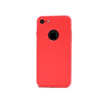 iphone 7 360 silikoonist ümbris punane