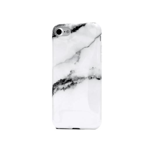 iphone 7 8 valge marmor ümbris silikoonist min