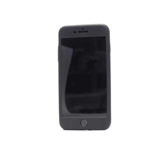 iphone 7 plus 360 silikoonist ümbris must 1 2