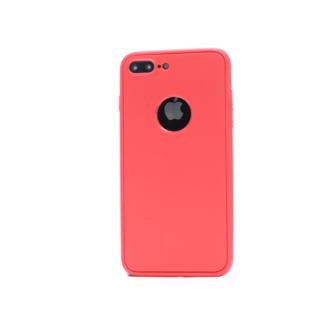 iphone 8 plus 360 silikoonist ümbris punane