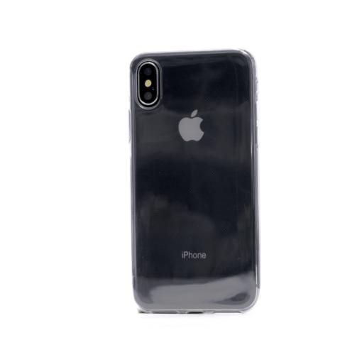 iphone x xs ümbris silikoonist läbipaistev