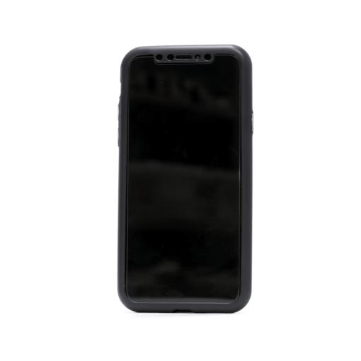 iphone xs 360 silikoonist ümbris must 1