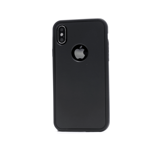 iphone xs 360 silikoonist ümbris must