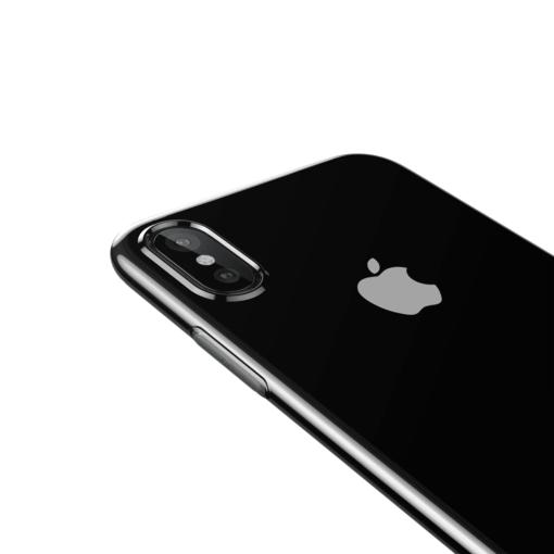 iphone xs max silikoonist ümbris läbipaistev 2