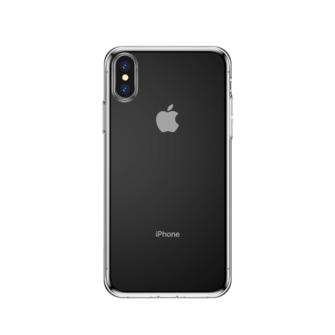 iphone xs max silikoonist ümbris läbipaistev