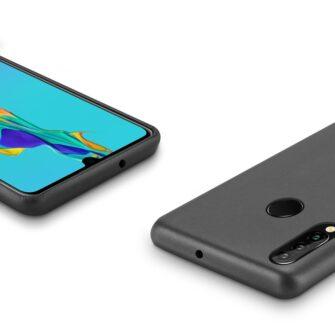 Huawei P30 Lite ümbris nahast must 4