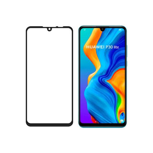 Huawei P30 Lite kaitseklaas täisekraan