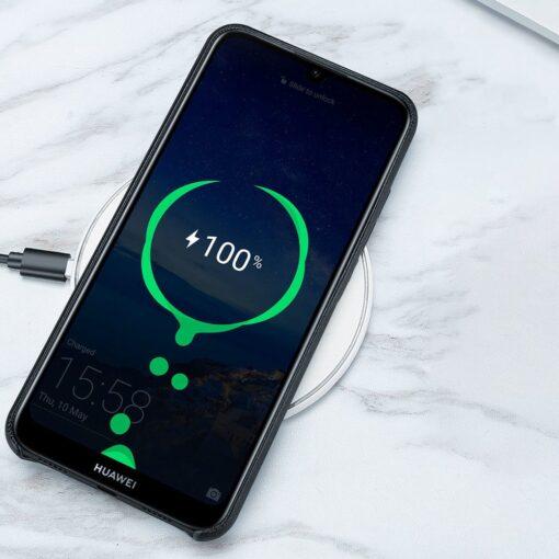 Huawei Y6 2019 sinine ümbris nahast 3
