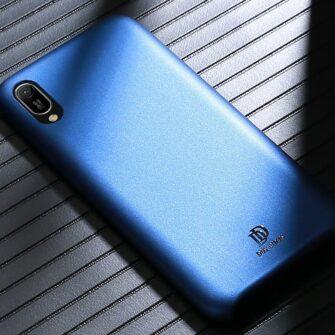 Huawei Y6 2019 sinine ümbris nahast 4