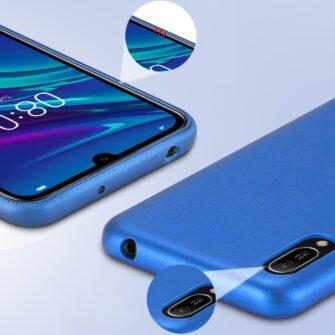 Huawei Y6 2019 sinine ümbris nahast 6