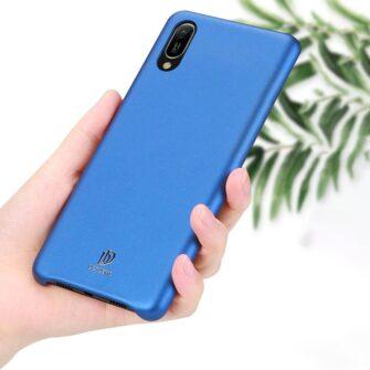 Huawei Y6 2019 sinine ümbris nahast 7