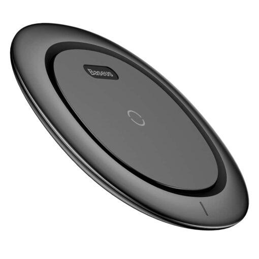 Juhtmevaba laadija, mis sobib Apple iPhone, Samsungi, Huawei ja Xiaomi telefonidele, mis toetavad juhtmevabat laadimist.