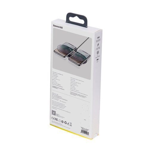 Juhtmevaba laadija ja laadimisalus iPhone Samsung Huawei Apple Airpods 15W 2in1 10