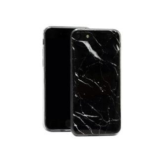 Samsung A40 ümbris marmor must