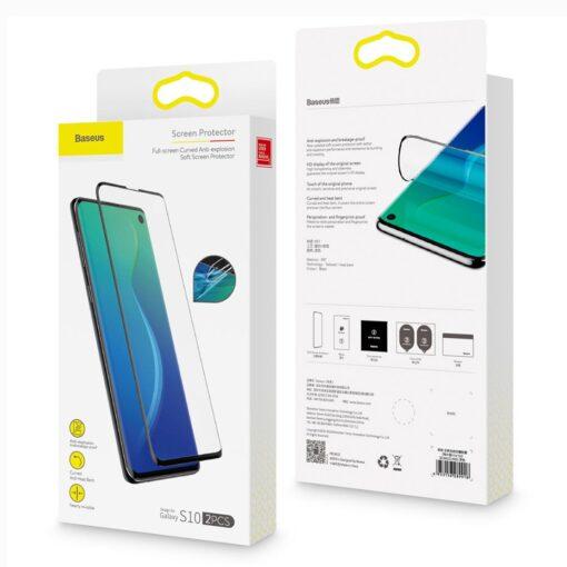 Samsung S10 Plus Kaitseklaas kaitsekile 16