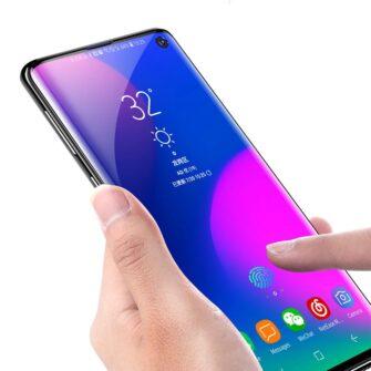 Samsung S10 Plus Kaitseklaas kaitsekile 5