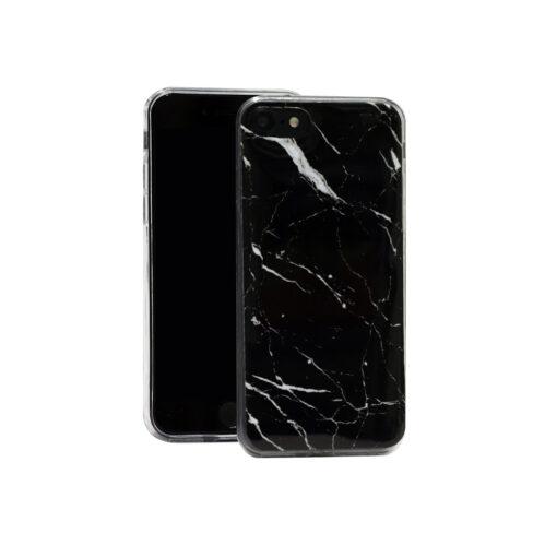 iPhone 11 ümbris marmor must