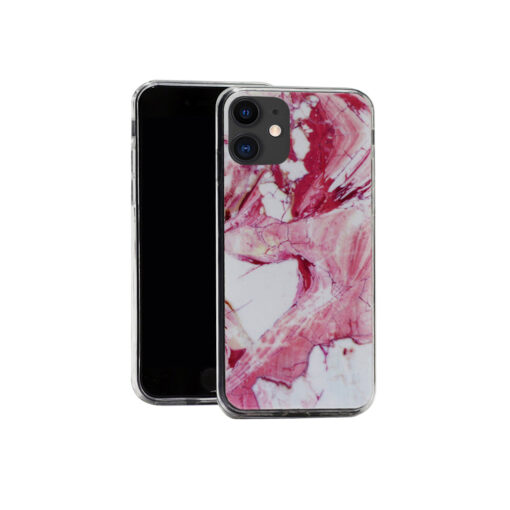 iPhone 11 kaaned marmor roosa