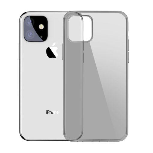 iPhone 11 silikoonist ümbris halli värvi